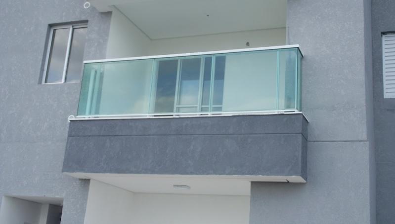 Guarda Corpo de Alumínio e Vidro Porto Feliz - Guarda Corpo de Alumínio e Vidro