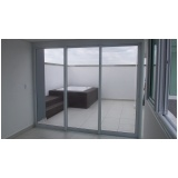 comprar portas de alumínio com vidro Piedade