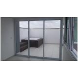 comprar portas de alumínio com vidro Porto Feliz