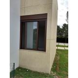 janela de alumínio e vidro preço Araçoiaba da Serra