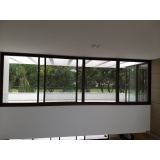 orçamento de janela de alumínio e vidro Salto de Pirapora