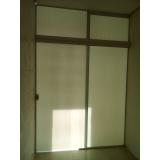 porta de vidro temperado de abrir Votorantim