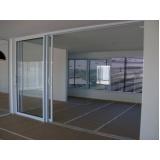 portas de alumínio com vidro Itapetininga