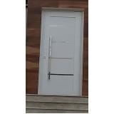 porta de alumínio de lambril
