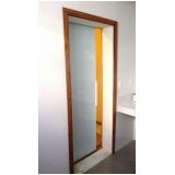 portas de vidro temperados de correr Tietê