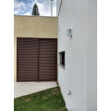 portas em alumínio para garagem Boituva
