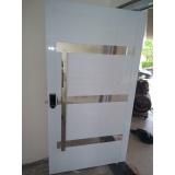 portas em alumínio sob medida preço Cerquilho