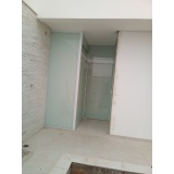 porta de vidro temperado de abrir